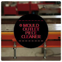 mould outlet piece cleaner
